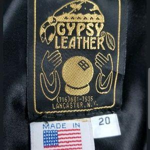 9dc13cfb2aa Gypsy Leather Jackets   Coats - Gypsy Leather Motorcycle Jacket Size 20